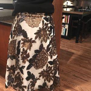 Dresses & Skirts - Chicwish     Sequined  Sheer Skirt